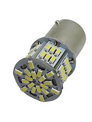 2 одна тысяча сто пятьдесят шесть BA15S 54 привело 3014 SMD автомобиль хвост резервный свет лампы белого постоянного 12-24В