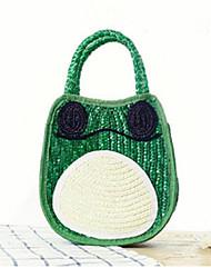 STYLE-CICI® Femme Paillette Cabas Vert-527758418459