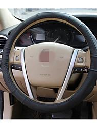 couvercle du volant en cuir j233, cuir voiture couverture de volant 53-1c \ 1602, diamètre 38cm