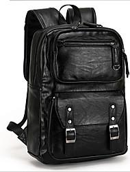 Men Cowhide Casual / Outdoor Backpack