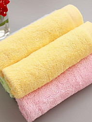 Low Price Promotion Plain Coloured Small Bamboo Fiber Towel