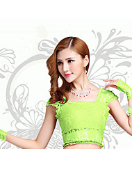 Belly Dance Tops Women's Performance Lace Lace 1 Piece