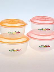 2 Kitchen Plastic Lunch Box