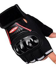Luvas de metade do dedo táticos motocicleta luvas de combate equitação da motocicleta treinamento físico deslizamento
