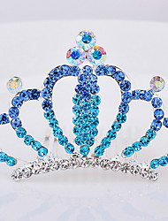 Korean Flower Girl's Alloy Silver Tiaras