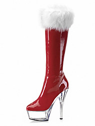 15CM Women's Boots Fall / Winter Heels / Platform / Fashion Boots/ Christmas boots / Wedding / Party Outdoor leisure