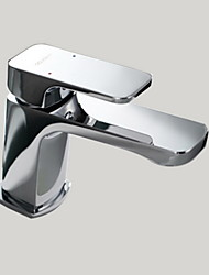 Deck Mounted Single Handle Bathroom Sink Faucet Basin Mixer Tap