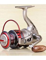 Спиннинговые катушки 5:5:1 10 Шариковые подшипники Заменяемый Морское рыболовство / Обычная рыбалка-DF1000 YUMOSHI