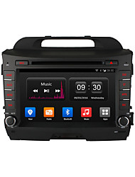 ownice c300 8 polegadas 1024 * 600 quad core gps android 4.4 DVD do carro para Kia Sportage