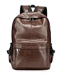 Men PU Sports / Outdoor Backpack