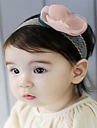 Korean Flower Girl's  Flower Fabric Headbands