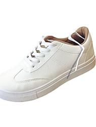 Da donna-Sneakers-Casual-Comoda-Piatto-PU (Poliuretano)-Bianco