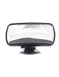 Convex Clear View Mirror 360 Degree Rotation Sucker Lock Car Interior Accessories Auxiliary Mirror Baby Kid Safety Care