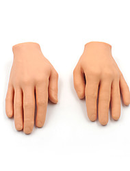 DIY 3D Synthetic Tattoo Practice Hand Top Soft Silicone Fake Hand For Beginners Tattoo Practice 1PCS/Lot