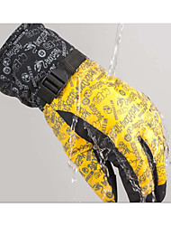 Outdoor Windproof Ski Gloves Cycling Gloves in Winter Double Thick Mountain Motorcycle Gloves