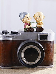 Vintage Camera Piggy Bank Ornaments for Wedding Room Decorations