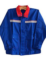 eletrostática com fluorescente fábrica posto de gasolina roupa de trabalho uniformes anti-estáticos terno de manga comprida