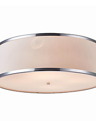 40W Flush Mount ,  Modern/Contemporary Chrome Feature for Designers Metal Living Room / Bedroom / Entry