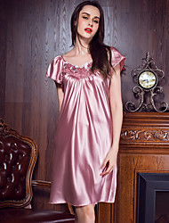 Women Satin & Silk Nightwear,Polyester