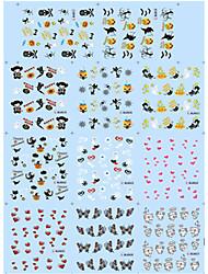 Etiqueta engomada del clavo del arte del clavo Puntas Completas de Uña / Joyas de Uñas / Otras Decoraciones