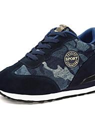 chaussures pour femmes en daim chaussures de confort printemps / été / automne / hiver en plein air / sport / casual talon compensé