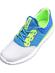 Women's Shoes Tulle Fall Flats Sneakers Athletic Flat Heel Others Green / Gray / Orange Sneaker
