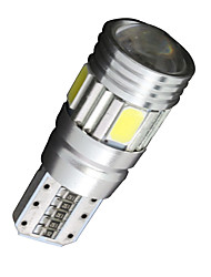 4x cuneo canbus T10 bianco 192 168 194 W5W 6 5630 SMD errore luce lampadina led 12v gratis