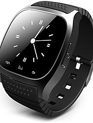 Hombre Mujer Reloj Smart Pantalla Táctil Mando a Distancia Calendario alarma Podómetro Monitores para Fitnes Cronómetro Digital Caucho