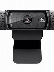 câmera C920 Logitech® vídeo desktop do computador de transmissão de vídeo microfone de alta rede âncora Qing