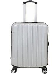 Unisexe PVC Extérieur Bagages Rose / Argent / Noir