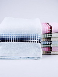 Home Bamboo Fiber Small Square Gradient Color Pure Cotton Towels Daily Sports Towel