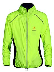 WOLFBIKE® Велокуртки унисекс Длинные рукава ВелоспортБыстровысыхающий / С защитой от ветра / Ультрафиолетовая устойчивость /