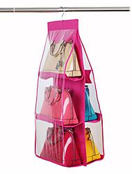 Bag Storage Hanging Bag With 6 Layers Of Non Woven Bag Storage Hanging Bag Wardrobe Hanging Cloth Bag