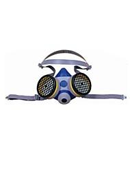 B290 à double demi-masque à cartouche filtrante | anti-virus et d'un demi-masque | silicone demi-masque