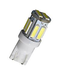 20pcs T10 W5W 192 168 194 7014 7020 10smd 10 feux de position LED 12v de lumière de coin