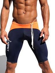 Athletic Men's Sport Shorts Elastic Shorts Fitness Gym Workout Skinny Running Yoga Fight Short Man Biker Shorts AM12