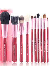 12Pcs Makeup Brush Brush Cylinder Suit Wool Brush Sets Full Set
