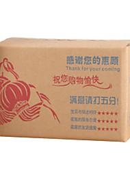 carton matériau service de couleur en bois brun équipement deux d'un paquet