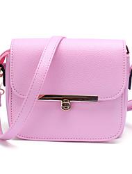 Femme Polyuréthane Décontracté / Shopping Sac à Bandoulière / Mobile Bag Phone