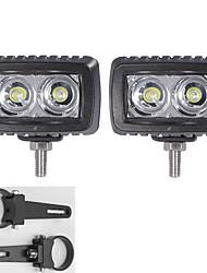 2x levou cree barras de luz suv ATV 4 * 4 veículos offroad com um par de 1,75 polegadas suportes de montagem