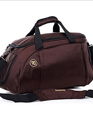 Men Travel Bag Canvas Casual Outdoor Black Purple Ruby