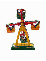 the windmill Wind-up Toy Leisure Hobby Metal Yellow For Kids