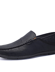 Men's Shoes Casual Loafers Outdoor / Party & Evening / Athletic / Casual Suede / Patent Leather Loafers Black / Brown