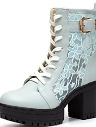 Women's Shoes Synthetic / Patent Leather / Leatherette Spring / Summer / Fall Heels /  Office & Career / Party