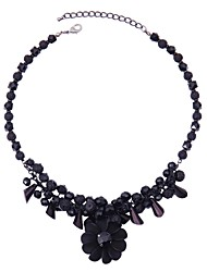 LGSP Necklace Pendant Necklaces Jewelry Black Alloy Party 1pc Gift