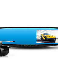 Driving Recorder Rear View Mirror Dual Lens HD 1080P/4.3 Inch Screen