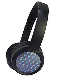 Enmey YM-520BT LED Lights Bluetooth Wireless Foldable Hi-fi Stereo Headphone for Smart Phones