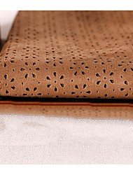 Holiday Fabric Flannel Fabric Embossed Brown Suede