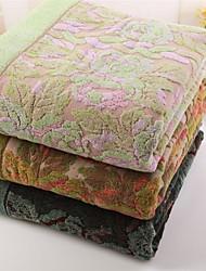 """Шерсть В соответствии с фото,Окраска в пряже Цветочные / ботанический 100% хлопок одеяла 140*190cm( 55""""*74"""")"""
