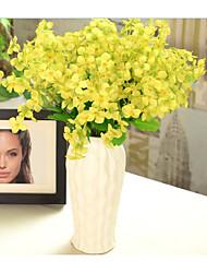simulation de fleurs de primevère salon fleur décorative mariage fleur de soie faisceau unique affichage multicolore décoratif